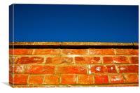 Brick Meets Sky, Canvas Print