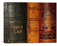 Good Old Books, Canvas Print