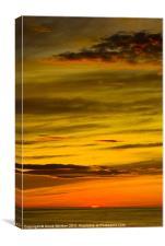Arctic Sunset, Canvas Print