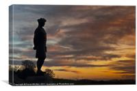 The Black Watch Memorial Dundee, Canvas Print
