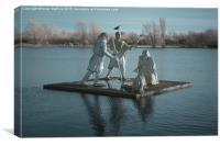 King Lear's Lake, Canvas Print
