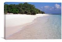 finey beach, Canvas Print