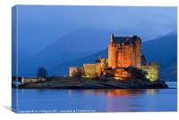 Eilian Donan Castle, Canvas Print