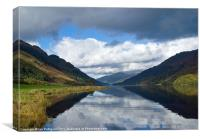 Loch Awe, Scotland., Canvas Print