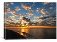 Sunset at Sanibel Island., Canvas Print