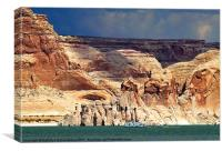 Glen Canyon National Recreation Area, Page, Arizon, Canvas Print