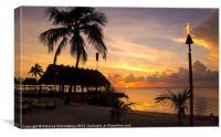 Beautiful Florida Sunset, Canvas Print