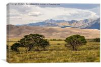 The Great Sand Dunes National Park, Colorado, USA, Canvas Print