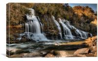 Twin Falls, Rock Island State Park, Warren Co, TN, Canvas Print
