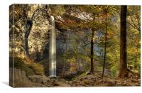 Ozone Falls, Rockwood, Tennessee , Canvas Print