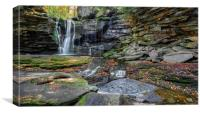 Blackwater Falls State Park, West Virginia, USA., Canvas Print