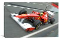 Felipe Massa - Catalunya 2011, Canvas Print