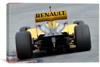 Vitaly Petrov - Renault R30, Canvas Print