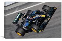 Jarno Trulli -  Lotus F1 T127, Canvas Print