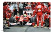 Felipe Massa - Ferrari F150, Canvas Print