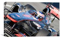 Jenson Button - McLaren F1, Canvas Print