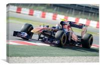 Sebastien Buemi - Toro Rosso 2011, Canvas Print