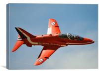 Red Arrows - Silverstone F1 2009, Canvas Print