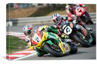 James Ellison - Swan Honda 2010, Canvas Print