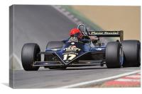 Nico Bindels - Lotus 87B-3 Brands Hatch 2010, Canvas Print