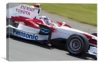 Jarno Trulli - Toyota F1 2008, Canvas Print