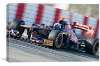 Daniel Ricciardo 2012 Catalunya, Canvas Print