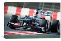 Sergio Pérez - 2012 - Sauber F1, Canvas Print