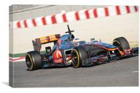 Lewis Hamilton 2012 Spain, Canvas Print
