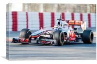 Jenson Button 2012 Catalunya, Canvas Print