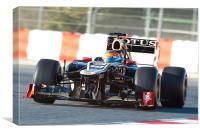 Romain Grosjean 2012 - Spain, Canvas Print