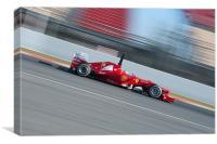 Fernando Alonso 2012 - Ferrari - Spain, Canvas Print