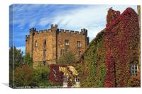 Durham Castle Keep, Canvas Print
