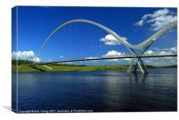 Infinity Bridge, Canvas Print