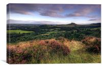 Roseberry Topping from Gribdale, Canvas Print