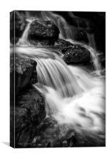 Silky Stream, Canvas Print