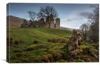 Pendragon Castle, Canvas Print