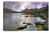 Pap of Glencoe and Loch Leven, Canvas Print