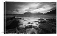 The Cuillins at Elgol, Canvas Print