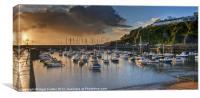 Saundersfoot Harbour, Canvas Print