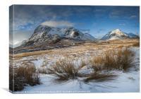 Stob Dearg & Buachaille Etive Mor, Glencoe, Scotla, Canvas Print