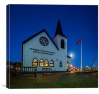 The Norwegian Church, Canvas Print