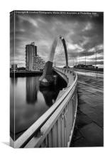 Squinty Bridge curves, Canvas Print