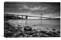 The Forth Road Bridge, Canvas Print