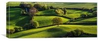 Skirrid Fields, Canvas Print