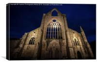 Tintern Abbey in the Welsh Borders, Canvas Print