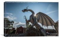 The Dragon, Ebbw Vale, Canvas Print