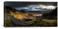 The Quiraing Winter Light on Isle of Skye, Canvas Print