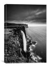 Mealt Waterfall, Isle of Skye, Canvas Print