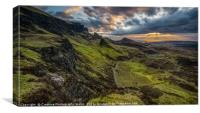 Dawn over the Quiraing, Canvas Print