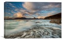 Elgol landscape Isle of Skye, Canvas Print